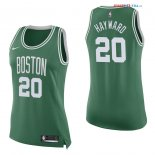 Boston Celtics - Maillot Femme NBA Gordon Hayward 20 Vert Icon 2017/2018