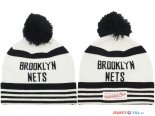 Brooklyn Nets - 2017 Tricoter un Bonnet NBA Blanc
