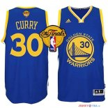 Golden State Warriors - Maillot NBA Curry 30 Bleu Finales