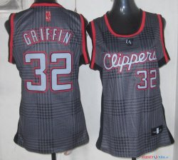 2013 Static Fashion - Maillot Femme NBA Griffin 32 Rouge
