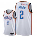 Oklahoma City Thunder - Maillot NBA Raymond Felton 2 Blanc Association 2018