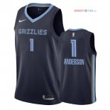 Memphis Grizzlies - Maillot NBA Kyle Anderson 1 Marine Icon 2018/2019