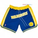 Golden State Warriors - Pantalon NBA Nike Retro Bleu 2018