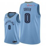 Memphis Grizzlies - Maillot NBA JaMychal Green 0 Bleu Statement 2018/2019
