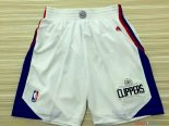 Los Angeles Clippers - Pantalon NBA Blanc