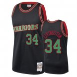 Golden State Warriors - Maillot NBA Shaun Livingston 34 Noir 2018 Noël