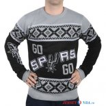 San Antonio Spurs - NBA Unisex Ugly Sweater Gris