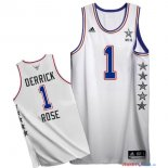 2015 All Star - Maillot NBA Derrick Rose 1 Blanc