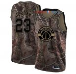 Washington Wizards - Maillot NBA Michael Jordan 23 Camo Swingman Collection Realtree 2018