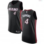 Miami Heat - Maillot NBA AJ Hammons 4 Noir Icon 2017/2018