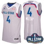 2017 All Star - Maillot NBA Paul Millsap 4 Gray