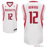 Houston Rockets - Maillot NBA Dwight Howard 12 Blanc