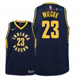 Indiana Pacers - Maillot Junior NBA C.J. Wilcox 23 Marine Icon 2018/2019