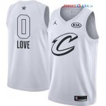 2018 All Star - Maillot NBA Kevin Love 0 Blanc