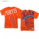 New York Knicks - T-Shirt NBA Bobby Portis 1 Orange
