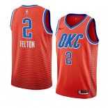 Oklahoma City Thunder-Maillot NBA Raymond Felton 2 Orange Statement 2019-20