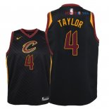 Cleveland Cavaliers - Maillot Junior NBA Isaiah Taylor 4 Noir Statement 2018