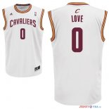 Cleveland Cavaliers - Maillot NBA Kevin Love 0 Blanc