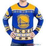 Golden State Warriors - NBA Unisex Ugly Sweater Bleu