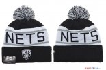 Brooklyn Nets - 2017 Tricoter un Bonnet NBA Gris 2