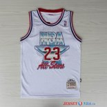 1992 All Star - Maillot NBA Michael Jordan 23 Blanc