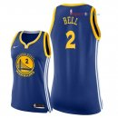 Golden State Warriors - Maillot Femme NBA Jordan Bell 2 Bleu Icon 2018