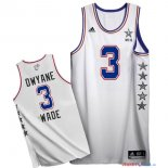 2015 All Star - Maillot NBA Dwyane Wade 3 Blanc