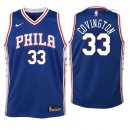 Philadelphia Sixers - Maillot Junior NBA Robert Covington 33 Bleu Icon 2018