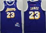 Los AngelesLakers - Maillot NBA Lebron James 23 Retro Pourpre