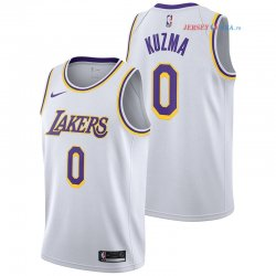 Los Angeles Lakers - Maillot NBA Kyle Kuzma 0 Blanc Association 2018/2019