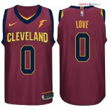 Cleveland Cavaliers - Maillot NBA Kevin Love 0 Rouge 2017/2018