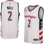 Washington Wizards - Maillot NBA John Wall 2 Blanc 2016/2017