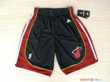 Miami Heat - Pantalon NBA Noir Rouge