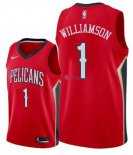 New Orleans Pelicans - Maillot NBA Zion Williamson 1 Rouge 2019-2020