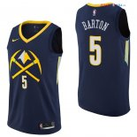 Denver Nuggets - Maillot NBA Will Barton 5 Nike Marine Ville 2017/2018