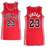 Chicago Bulls - Maillot Femme NBA Michael Jordan 23 Rouge
