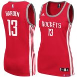 Houston Rockets - Maillot Femme NBA James Harden 13 Rouge