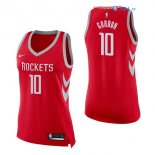 Houston Rockets - Maillot Femme NBA Eric Gordon 10 Rouge Icon 2017/2018