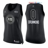 2018 All Star - Maillot Femme NBA Andre Drummond 0 Noir