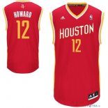 Houston Rockets - Maillot NBA Dwight Howard 12 Retro Rouge