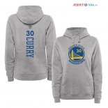 Golden State Warriors - Sweat Capuche NBA Stephen Curry 30 Gris Ville