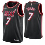 Miami Heat - Maillot NBA Goran Dragic 7 Retro Noir 2018
