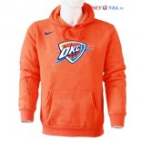 Oklahoma Ville Thunder - Sweat Capuche NBA Nike Orange