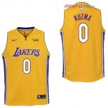 Los Angeles Lakers - Maillot Junior NBA Kyle Kuzma 0 Jaune