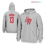 Houston Rockets - Sweat Capuche NBA James Harden 13 Gris