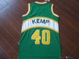 Seattle Supersonics - Maillot NBA Shawn Kemp 40 Vert