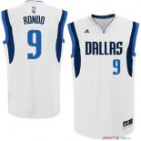 Dallas Mavericks - Maillot NBA Rajon Rondo 9 Blanc