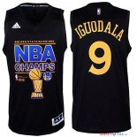 Golden State Warriors - Maillot NBA Iguodala 9 Noir Finales