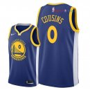 Golden State Warriors - Maillot NBA DeMarcus Cousins 0 Bleu Icon 2018