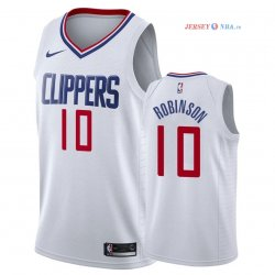 Los Angeles Clippers - Maillot NBA Jerome Robinson 10 Blanc Association 2018